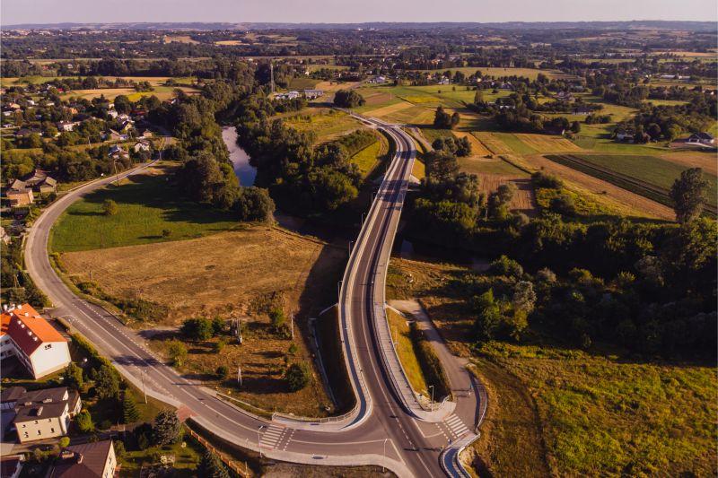 Trasa Sokołów Małopolski – Łańcut jest ważnym elementem podkarpackiej sieci dróg