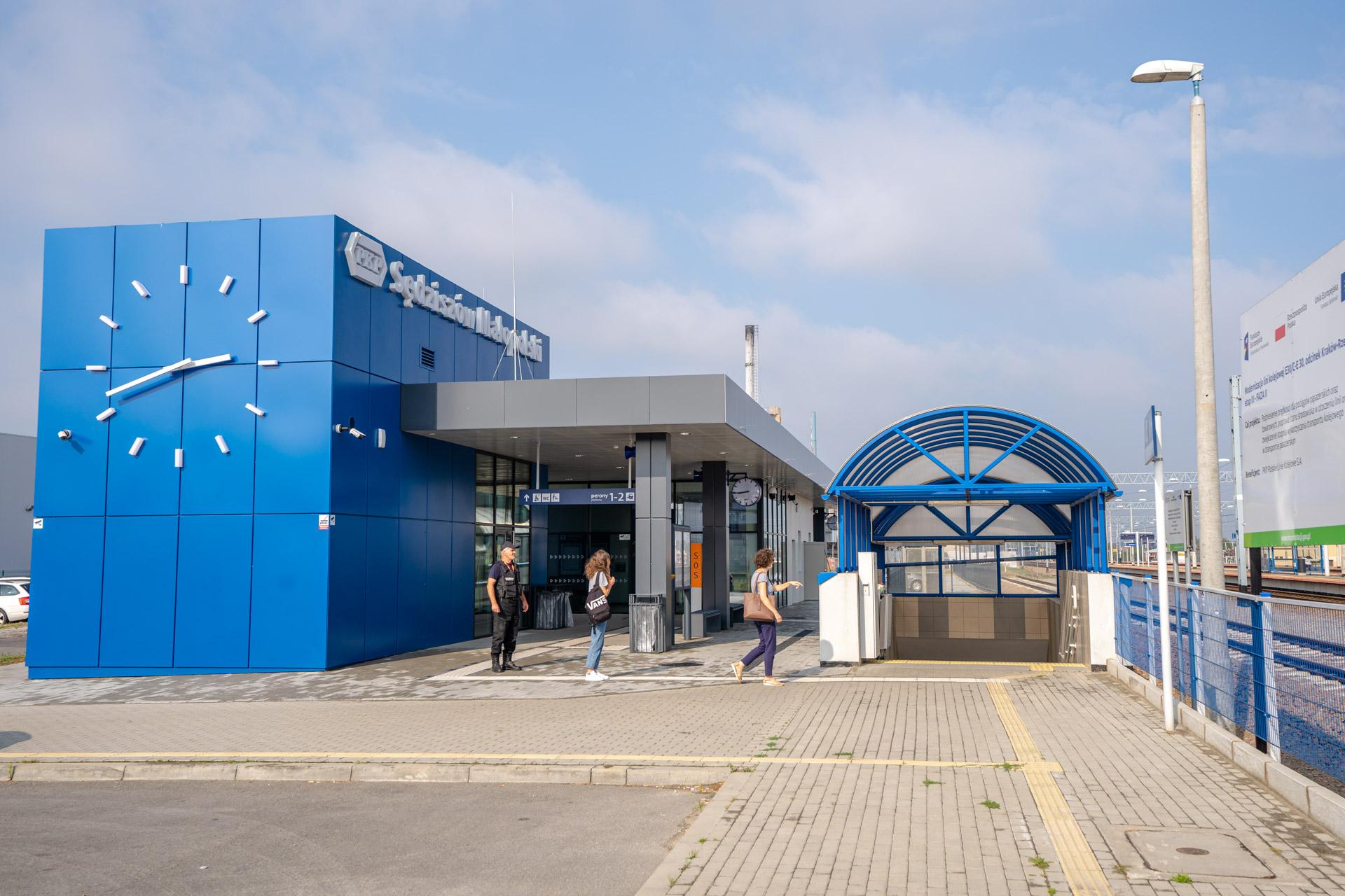 nowy dworzec w Sędziszowie Małopolskim