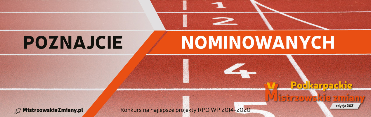 baner z napisem poznajcie nominowanych