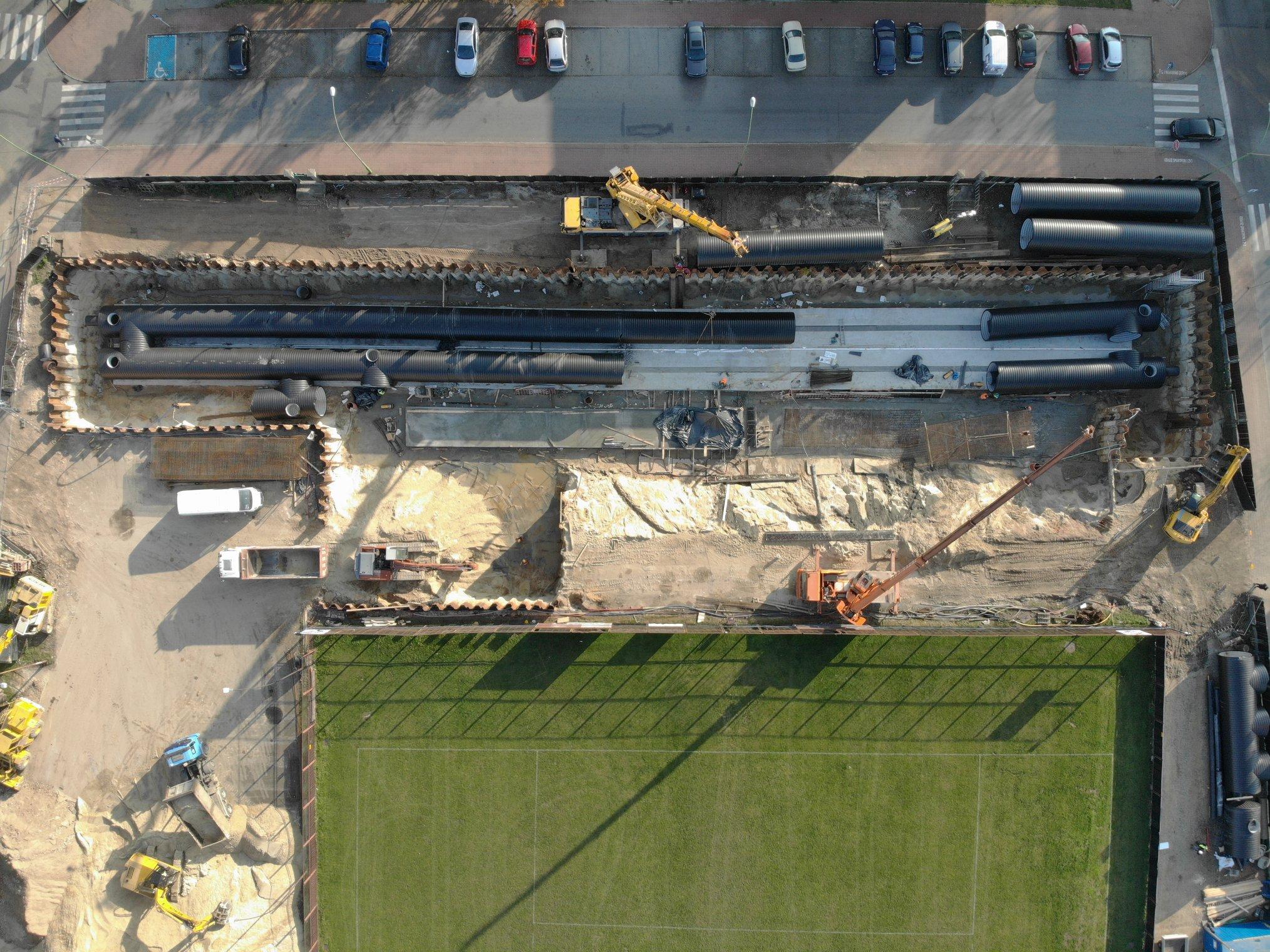 budowa zbiorników retencyjnych w Mielcu